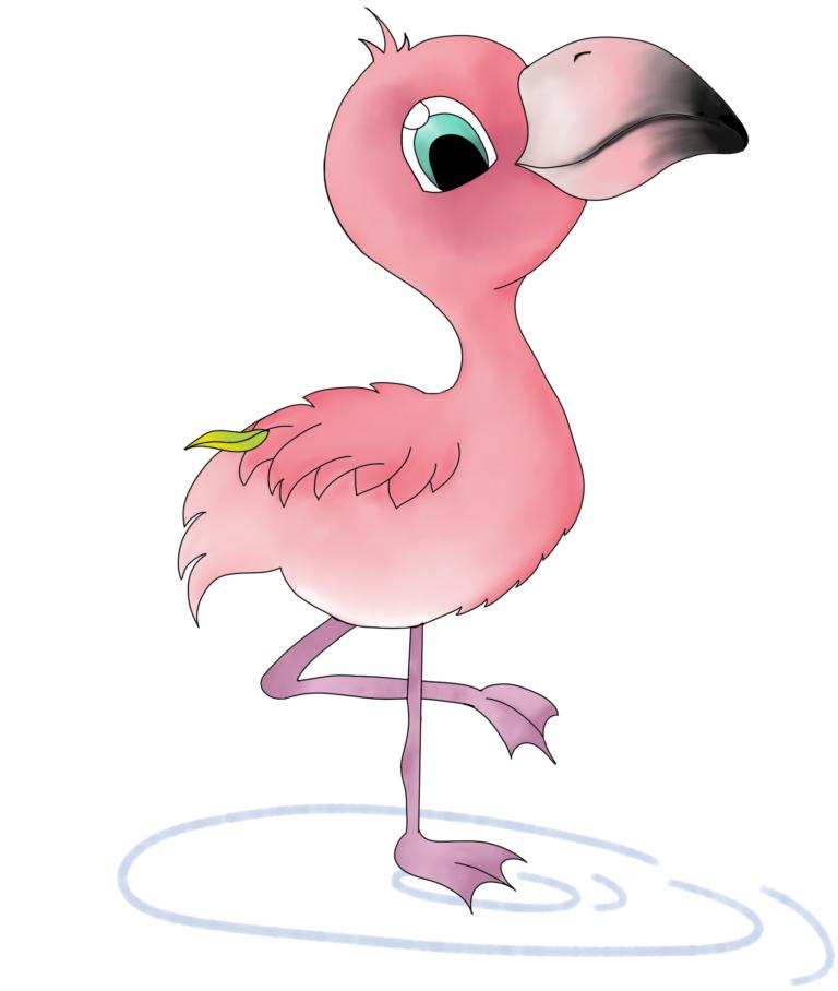 Flaffi der kleine Flamingo