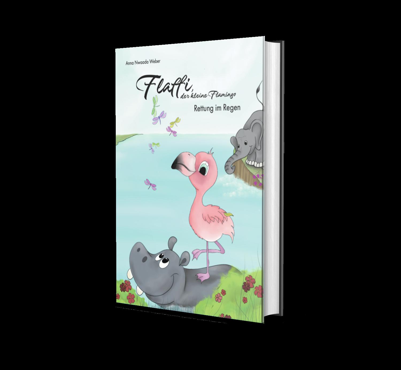 """Kinderbuch """"Flaffi, der kleine Flamingo"""""""