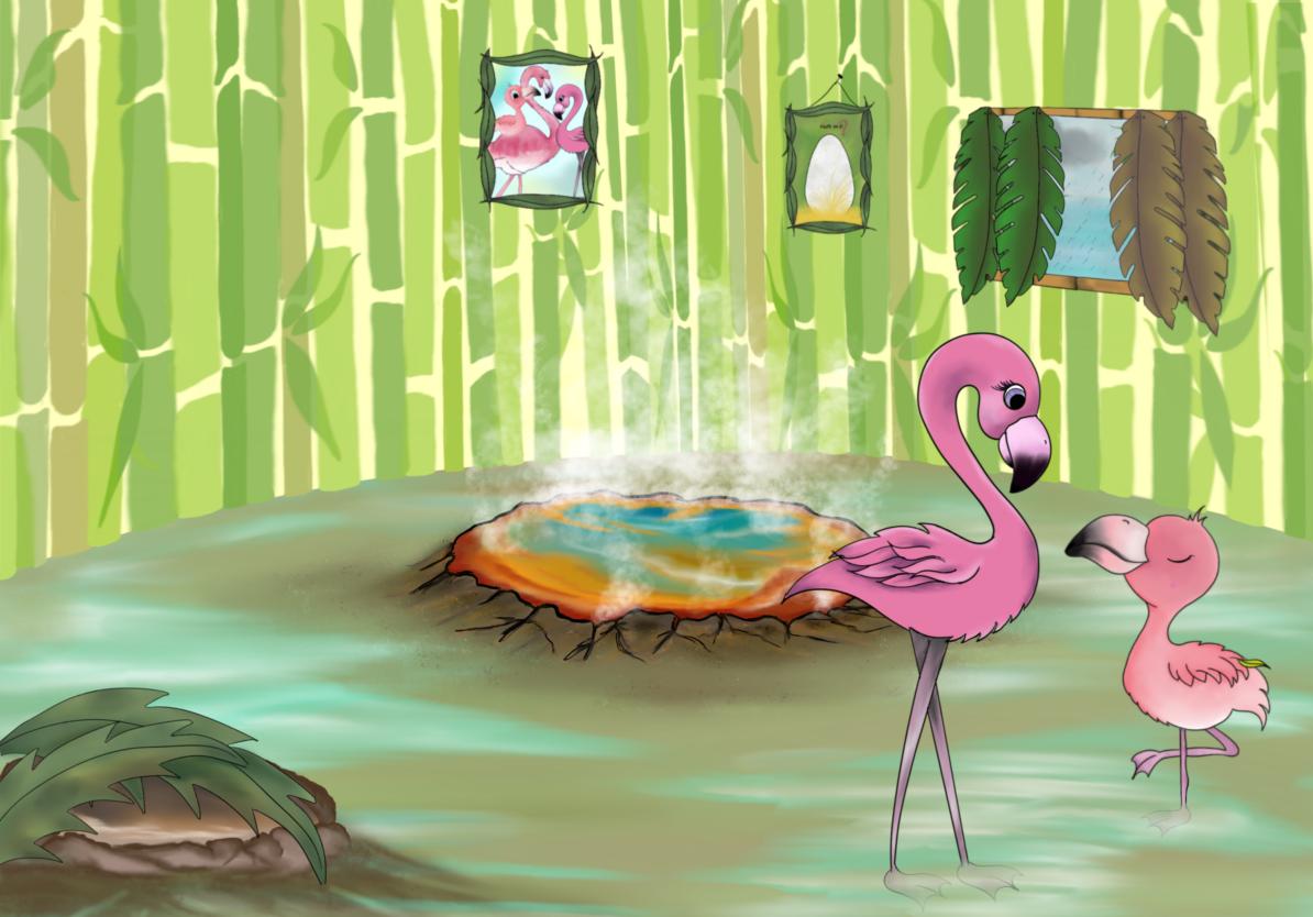 Interview mit Flaffi, dem kleinen Flamingo